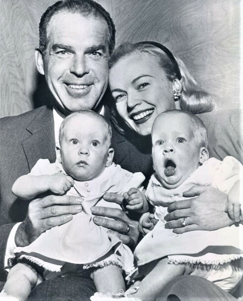 June Haver with her husband Fred MacMurray