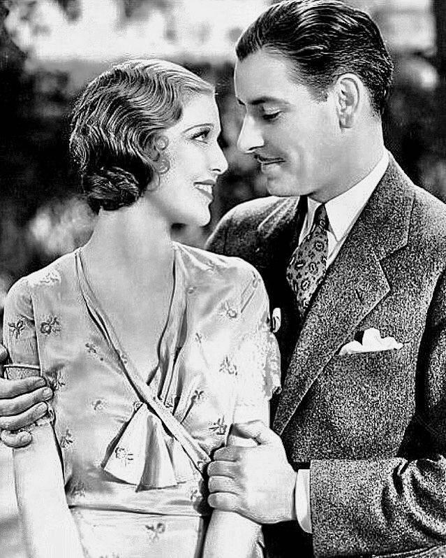 Loretta Young and Ronald Colman