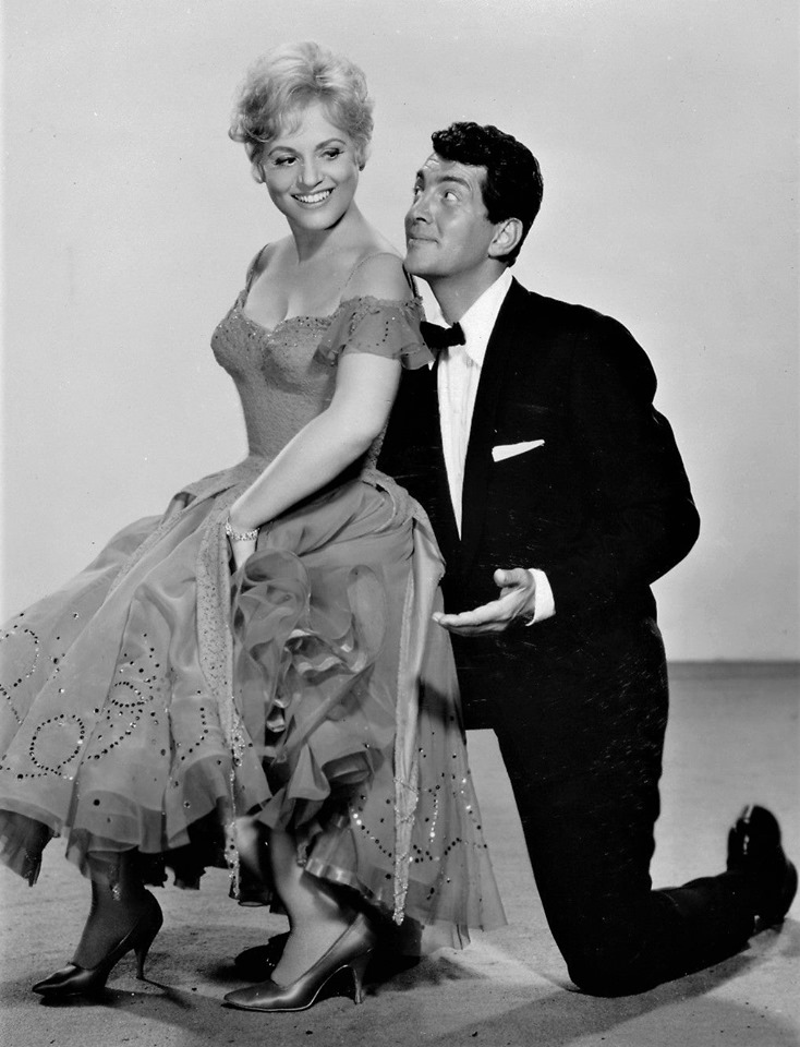 Judy Holliday with Dean Martin