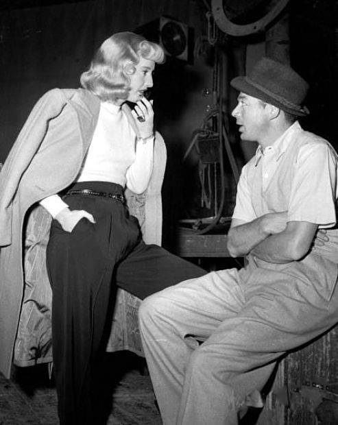 BARBARA STANWYCK & BILLY WILDER