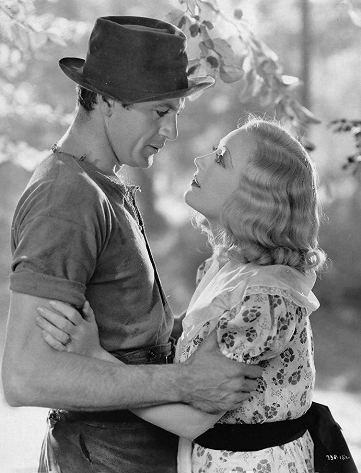 Gary Cooper and Marion Davies