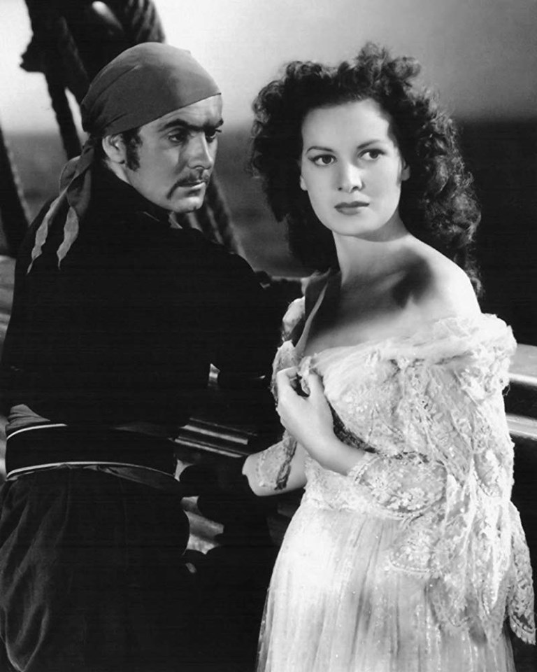 Maureen O'Hara & Tyrone Power