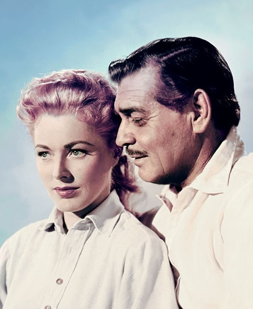 Eleanor Parker with Clark Gable