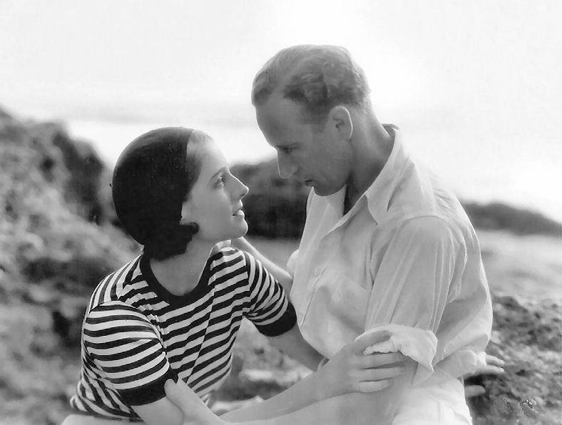 Norma Shearer and Leslie Howard