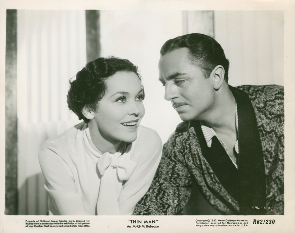 Maureen O'Sullivan and William Powell