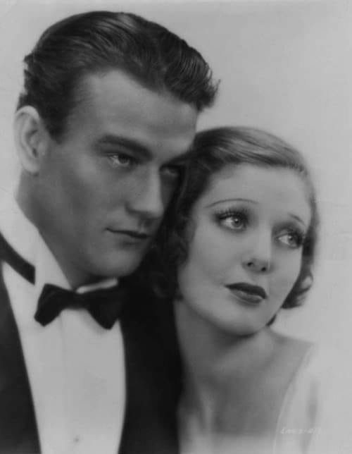 John Wayne and Loretta Young