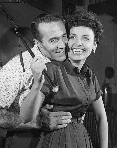 Lena Horne with Ricardo Montalban