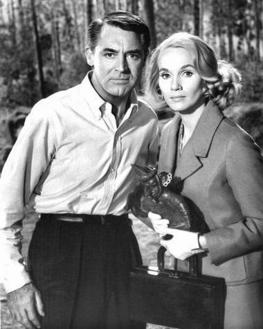 Eva Marie Saint with Cary Grant