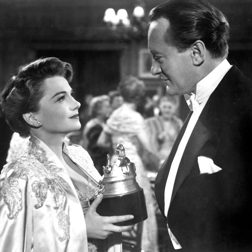 George Sanders on his birthday, here with Anne Baxter