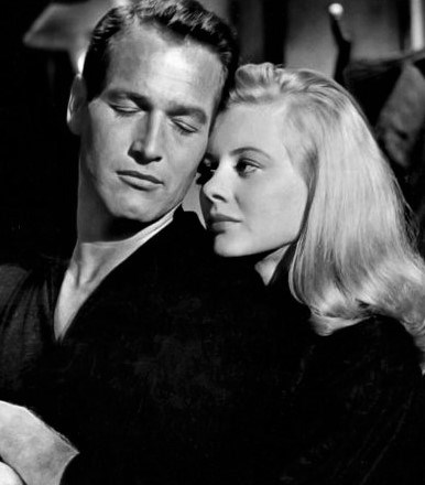 Shirley Knight with Paul Newman