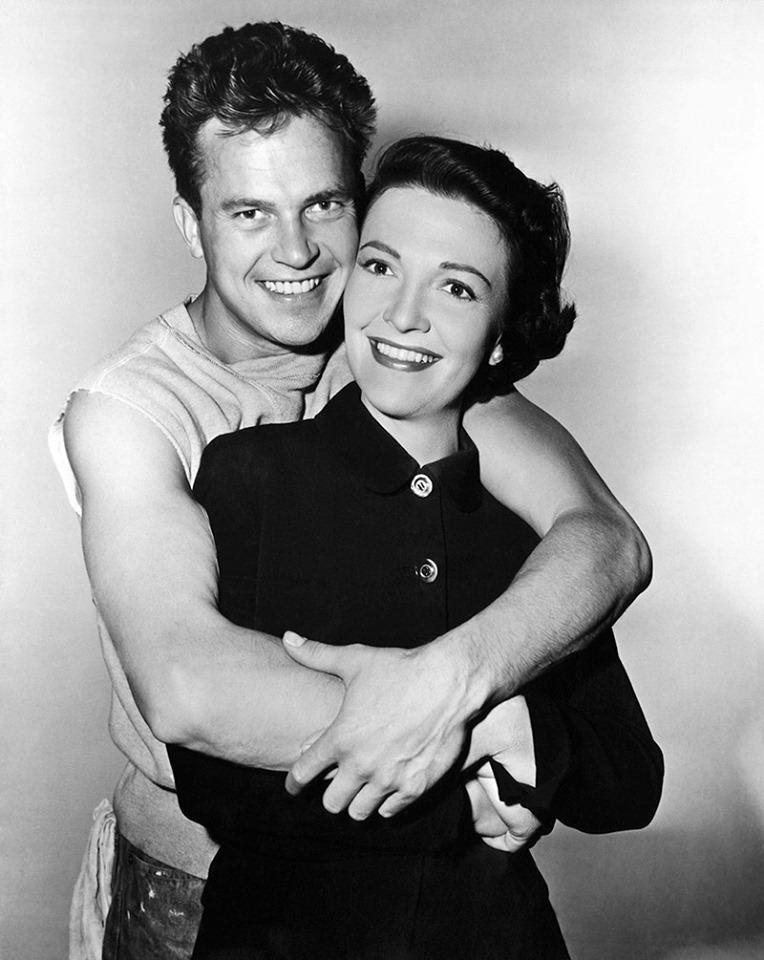 Nancy Davis with Ralph Meeker