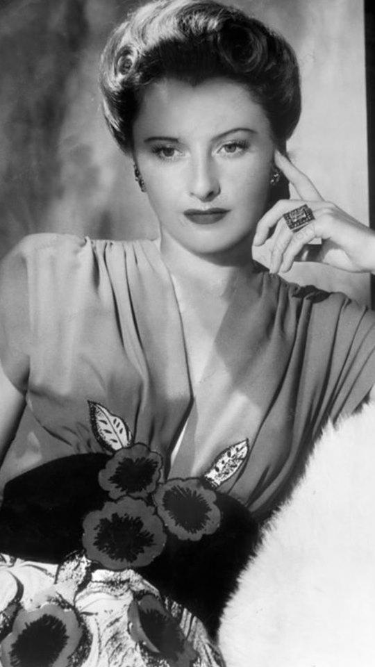 Barbara Stanwyick.