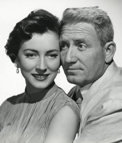 Valentina Cortese with Spencer Tracy