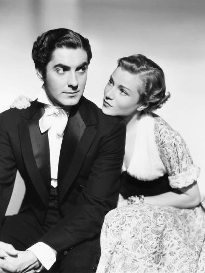 Annabella with Tyrone Power