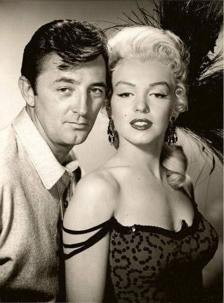 Robert Mitchum, Marilyn Monroe