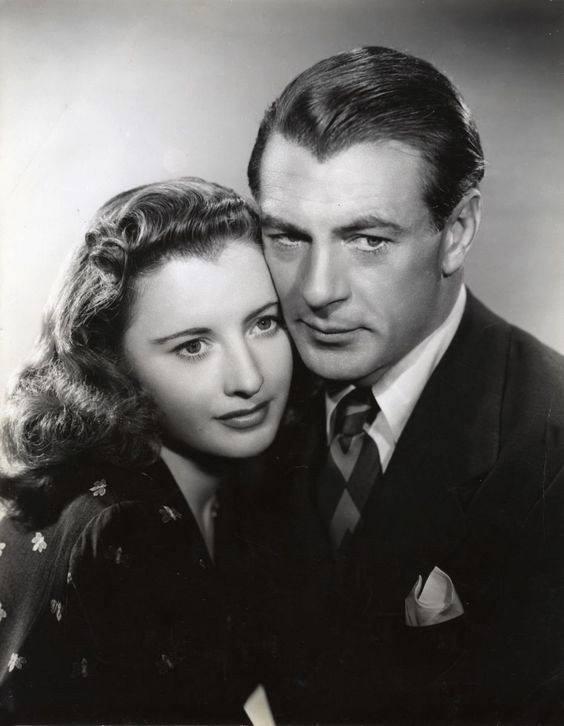Barbara Stanwyck with Gary Cooper