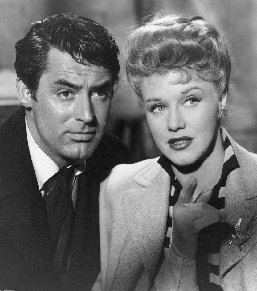 Ginger Rogers with Cary Grant