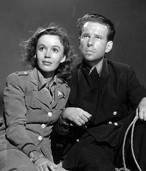 Hume Cronyn with Mary Anderson