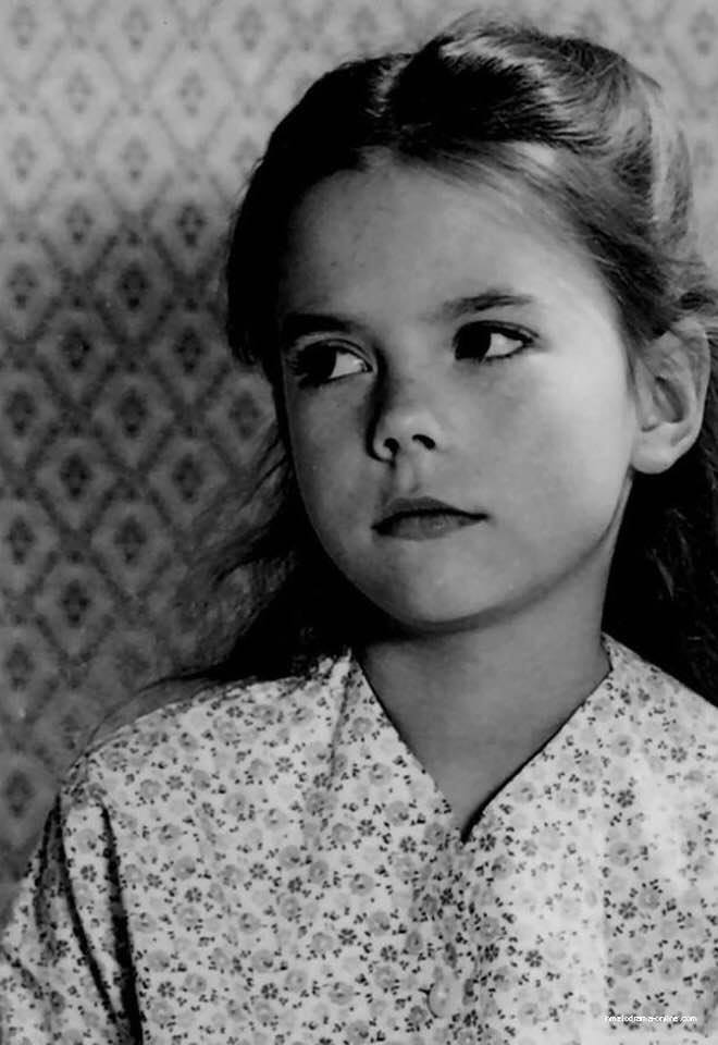A very young Natalie Wood