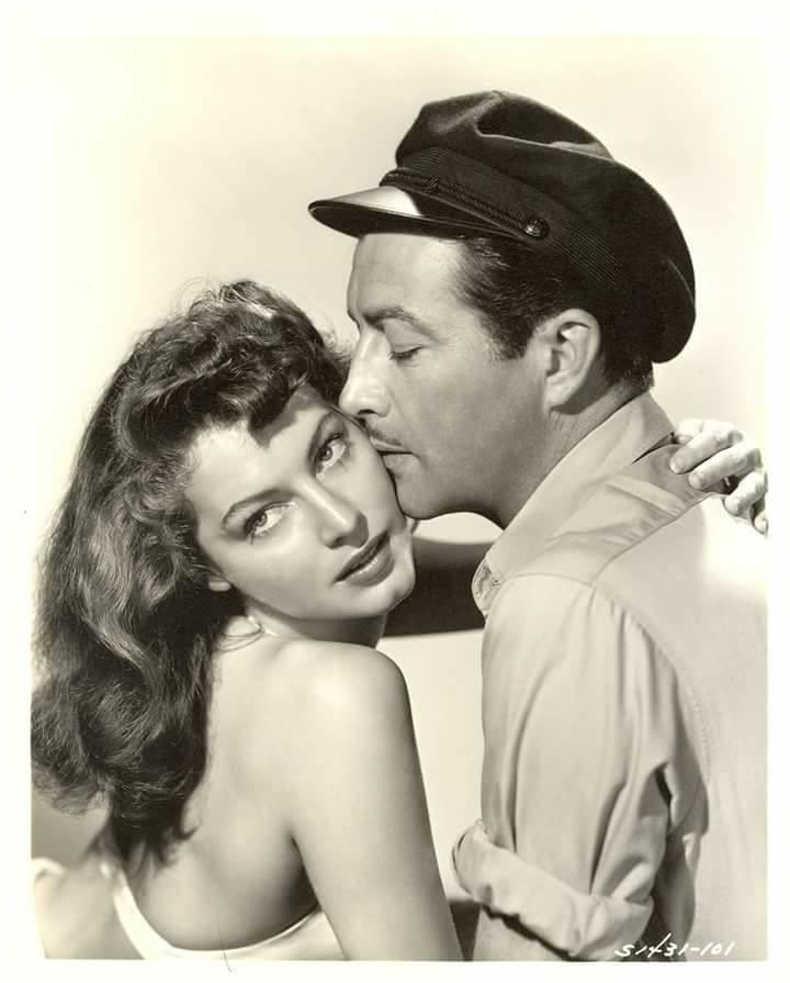 Ava Gardner & Robert Taylor