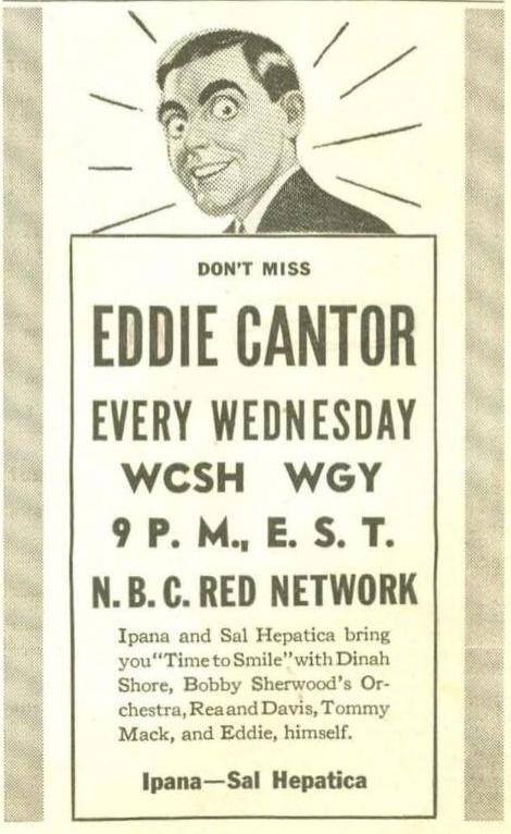 Guest Eddie Cantor