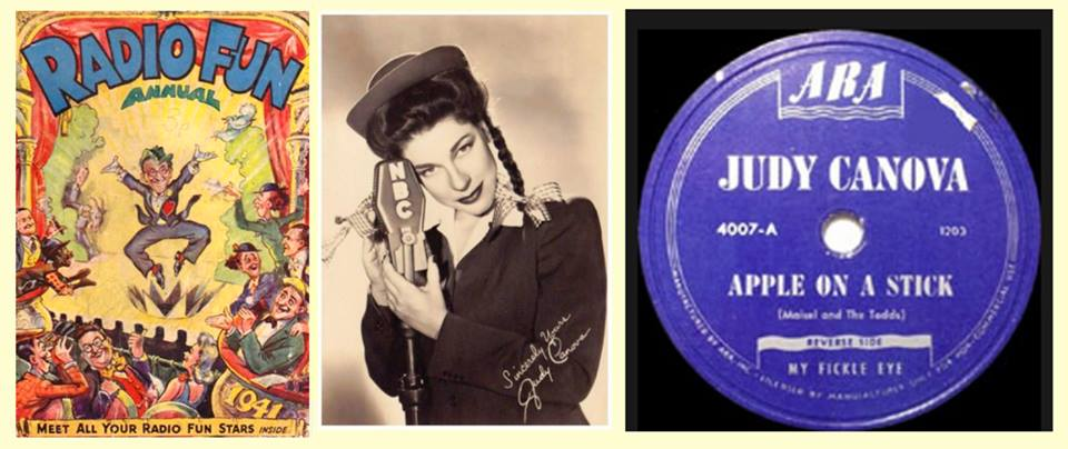 Radio Hall Of Fame 107 Guest Judy Canova