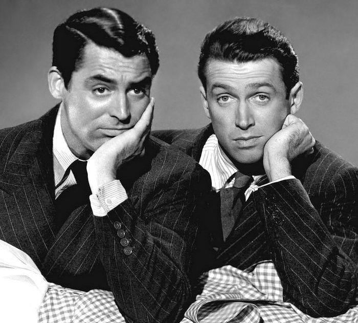 James Stewart and Cary Grant