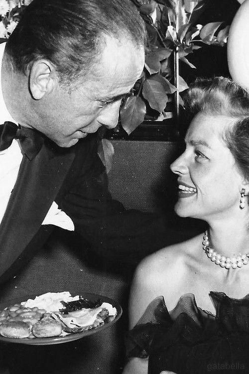 Lauren Bacall and Humphrey Bogart, 1950s