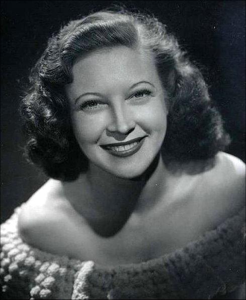 Lurene Tuttle as Gloria, Judy's friend