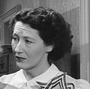 Margaret Brayton as Dora Foster, Judy's mother
