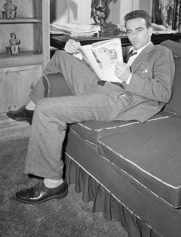 Actor Montgomery Clift