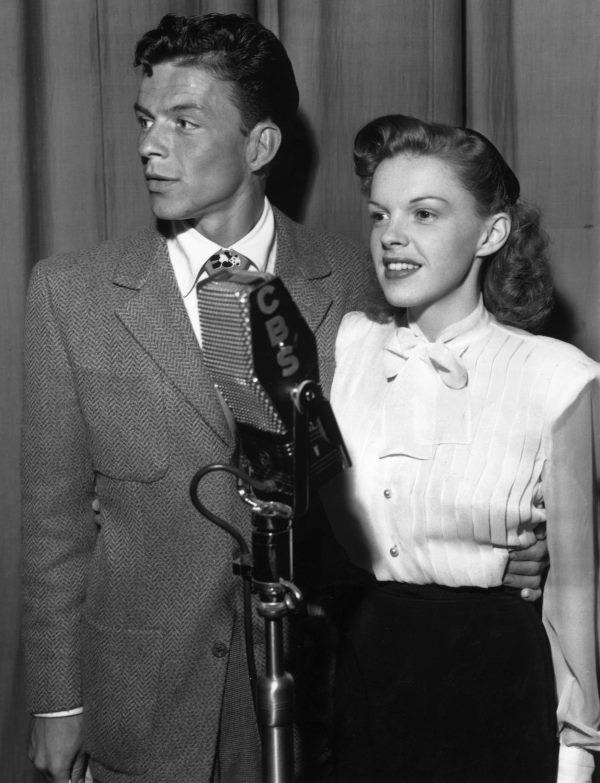 Frank Sinatra and Judy Garland