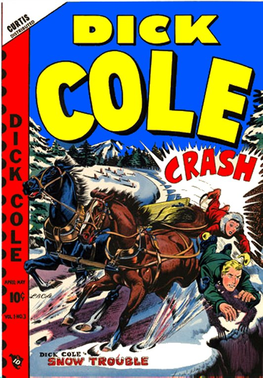 Adventures Of Dick Cole Comic Book