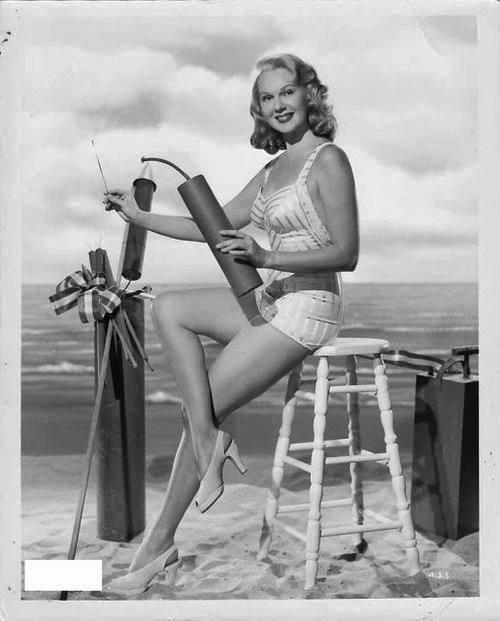 Bob Hope Guest Jerry Colonna Virginia Mayo