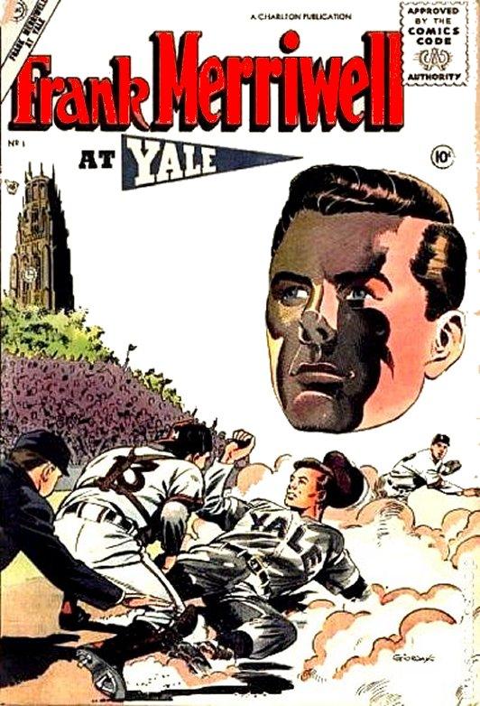 Adventures Of Frank Merriwell Comic Book