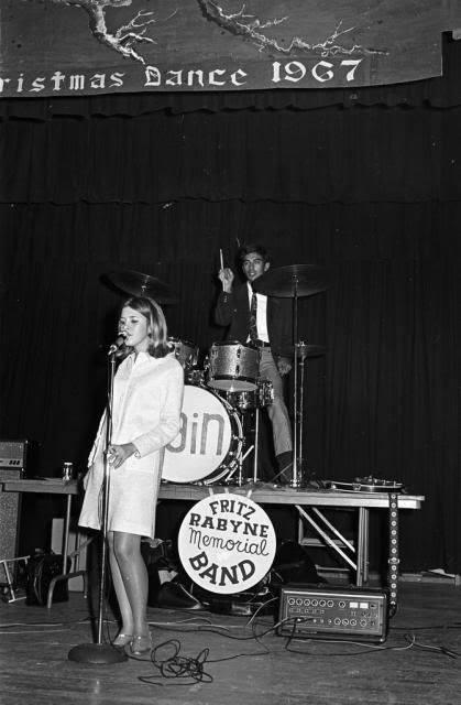 Stevie Nicks singing at her high school Christmas dance.