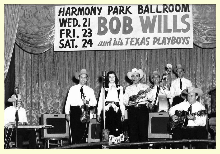If your down in Texas hoss Bob Wills is still the king ... Fuzzy  Old Time Radio country and western swing