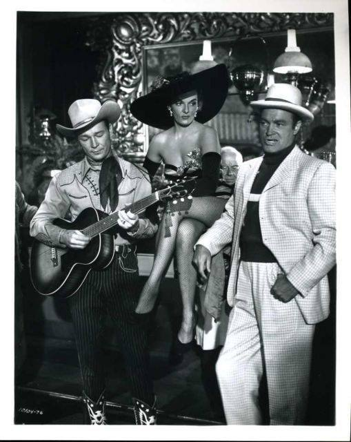 Roy Rogers, Jane Russell, Bob Hope