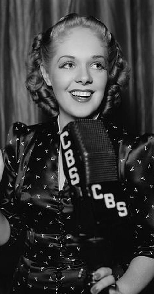 Actress Alice Faye