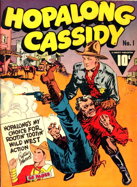 Hopalong Cassidy Comic