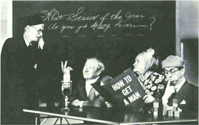 Left - Right: Tome Howard, Harry McNaughton, Lulu McConnell, George Shelton