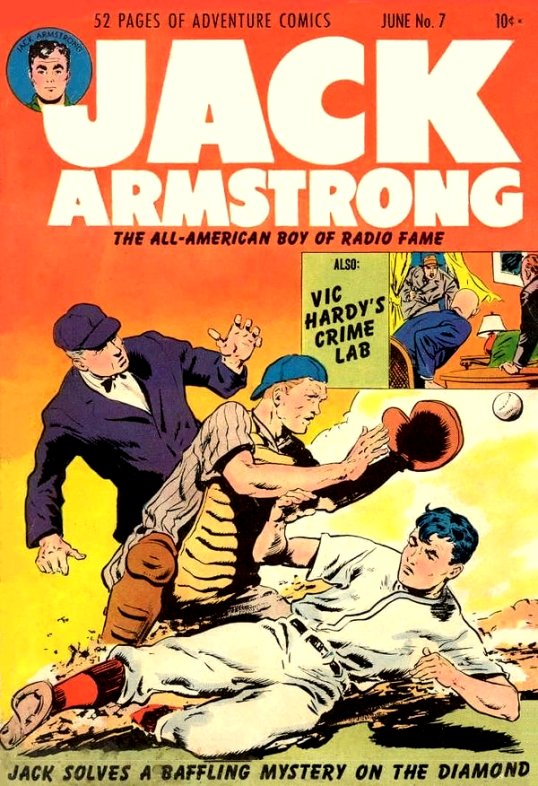Jack Armstrong, The All American Boy Comic Book