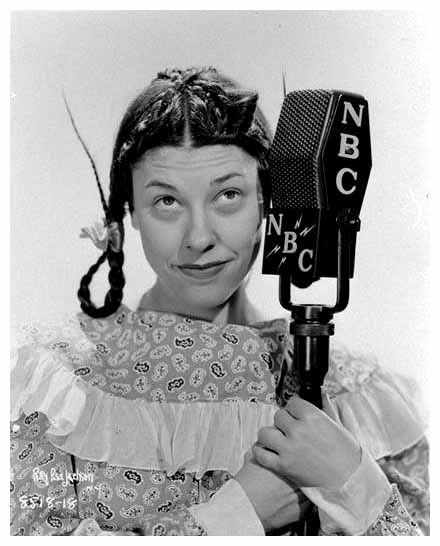 Judy Canova as herself