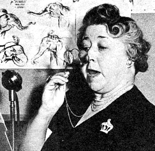 Verna Felton as Aunt Aggie
