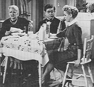 Florence Halop as Mamma, Marvin Kaplan as Alfred, Elena Verdugo as Millie