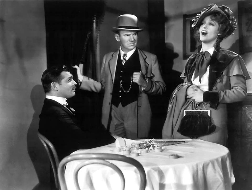Clark Gable,Ted Healy and Jeanette MacDonald