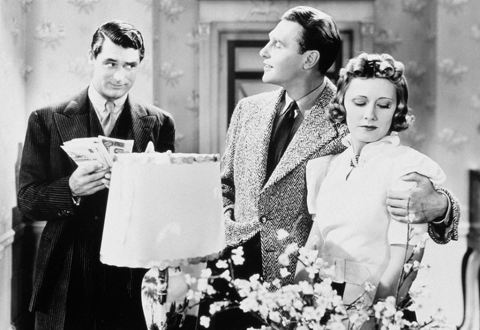 Cary Grant, Ralph Bellamy and Irene Dunne  The Awful Truth 1937  Directed by Leo McCarey