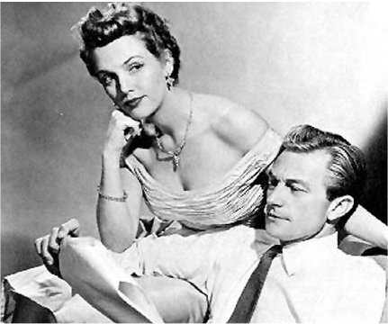 Richard Denning as Jerry North, Barbara Britton as Pam North