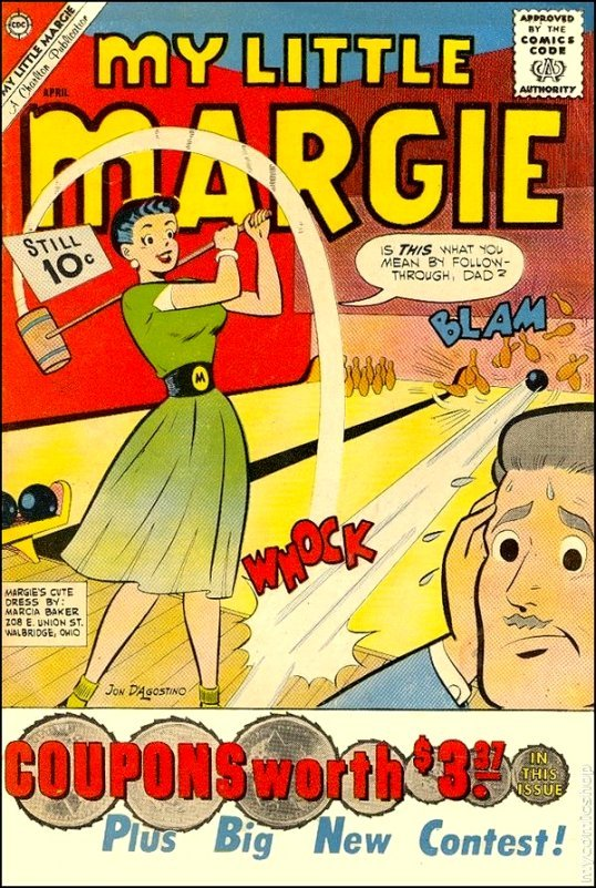 My Little Margie Comic Book
