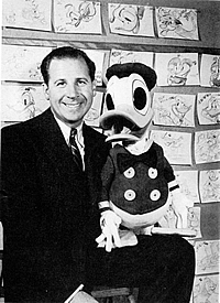 Clarence Nash - voice of Donald Duck